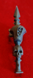 Chaos Space Marine Vehicle Tau Head Spike x1